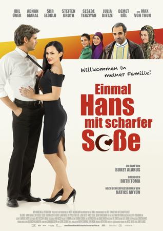 Filmplakat Einmal Hans mit scharfer Soße