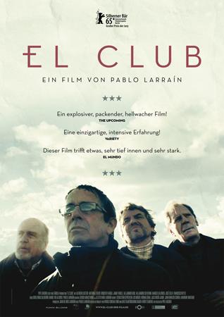Filmplakat EL CLUB - span. OmU