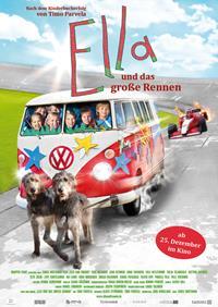 Filmplakat ELLA und das große Rennen