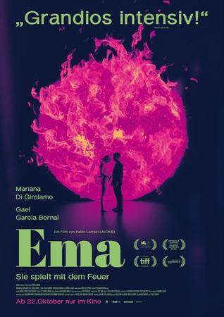 Filmplakat EMA - Sie spielt mit dem Feuer