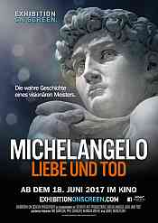 Filmplakat EXHIBITION ON SCREEN: Michelangelo: Liebe und Tod - engl. OmU