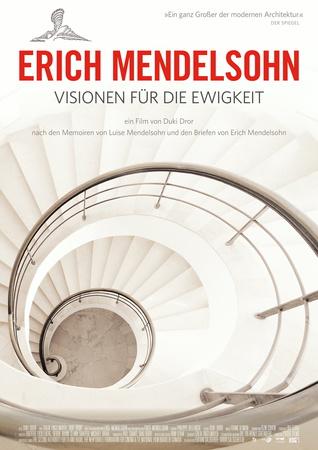 Filmplakat ERICH MENDELSOHN - Visionen für die Ewigkeit