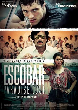 Filmplakat ESCOBAR - PARADISE LOST