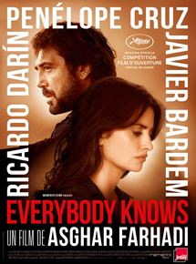 Filmplakat EVERYBODY KNOWS