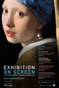 "Filmplakat EXHIBITION ON SCREEN: ""Girl with a Pearl Earring"" und andere Kunstschätze"