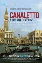 Filmplakat EXHIBITION ON SCREEN: Canaletto und die Kunst von Venedig - engl. OmU