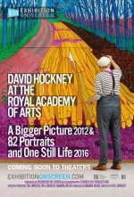 Filmplakat EXHIBITION ON SCREEN: David Hockney in der Royal Academy of Arts
