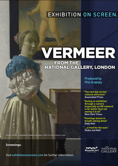 Filmplakat EXHIBITION ON SCREEN: Vermeer and Music - engl. OmU