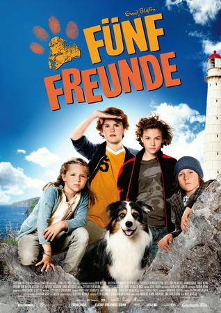 Filmplakat Fünf Freunde