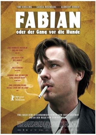 Filmplakat FABIAN oder Der Gang vor die Hunde