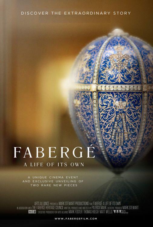 Filmplakat FABERGE - Ein Eigenleben