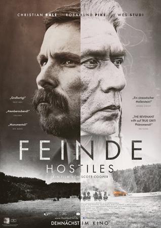 Filmplakat Feinde - HOSTILES - engl. OmU