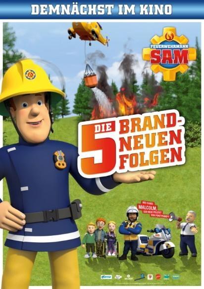 Filmplakat FEUERWEHRMANN SAM - KINOSPECIAL - 5 brandneue Episoden