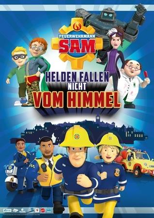 Filmplakat Feuerwehrmann SAM - Helden fallen nicht vom Himmel