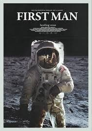 Filmplakat Aufbruch zum Mond - FIRST MAN - engl. OmU