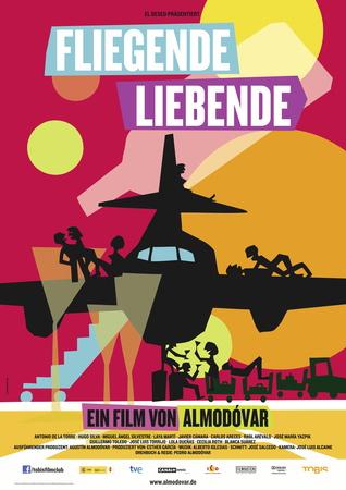Filmplakat Fliegende Liebende - span. OmU