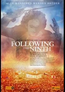 Filmplakat FOLLOWING THE NINTH - Auf den Spuren von Beethovens letzter Symphonie - engl. OmU