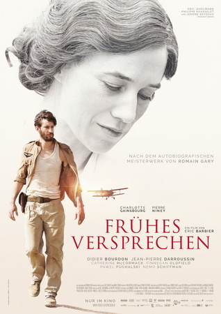 Filmplakat Frühes Versprechen - LA PROMESSE DE L'AUBE - franz. OmU