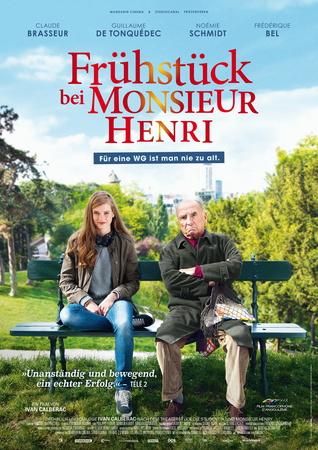 Filmplakat Frühstück bei Monsieur Henri