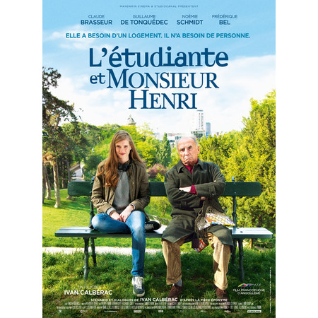 Filmplakat Frühstück bei Monsieur Henri - L Étudiant et Monsieur Henri - franz. OmU