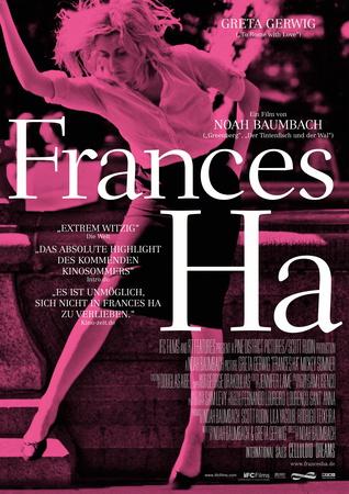 Filmplakat FRANCES HA - engl. OmU