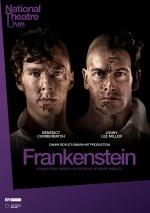 Filmplakat National Theatre live: Frankenstein (Benedict Cumberbatch als Kreatur)