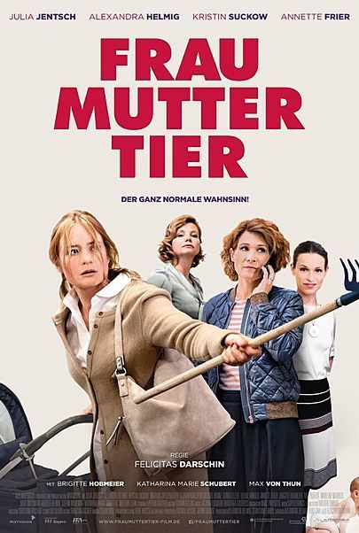 Filmplakat FRAU MUTTER TIER