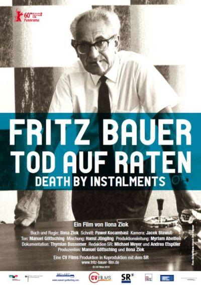 Filmplakat FRITZ BAUER - Tod auf Raten