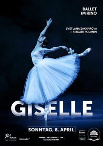Filmplakat Giselle - Bolschoi Ballett