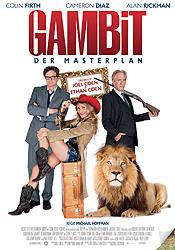 Filmplakat GAMBIT - Der Masterplan - engl. OmU