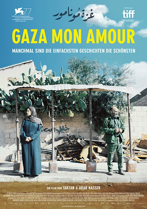 Filmplakat GAZA MON AMOUR