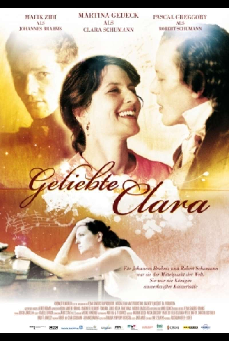 Filmplakat Geliebte Clara