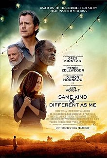 Filmplakat Genauso anders wie ich - SAME KIND OF DIFFERENT AS ME