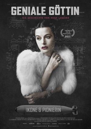 Filmplakat Geniale Göttin - Die Geschichte von Hedy Lamarr