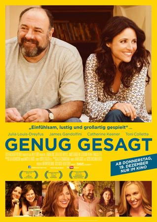 Filmplakat GENUG GESAGT - engl OmU