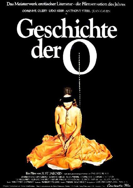 Filmplakat Geschichte der O
