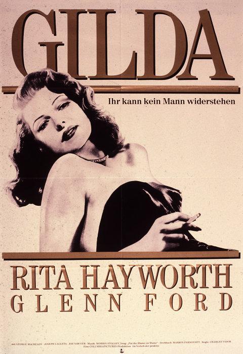 Filmplakat GILDA - engl. OmU