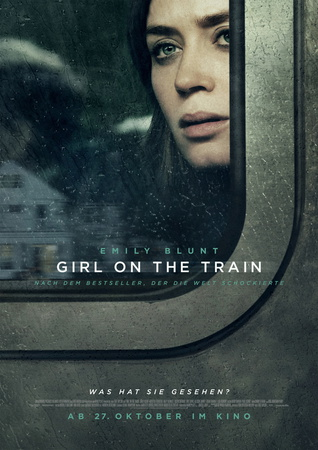 Filmplakat GIRL ON THE TRAIN - engl. OmU