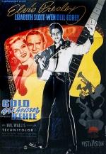 Filmplakat Gold aus heisser Kehle - LOVING YOU - engl. OmU (1957)