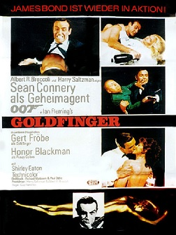 Filmplakat GOLDFINGER-James Bond 007