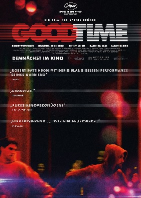Filmplakat GOOD TIME