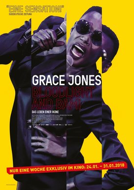 Filmplakat GRACE JONES: BLOODLIGHT AND BAMI - DAS LEBEN EINER IKONE