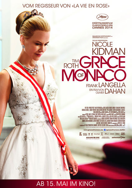 Filmplakat GRACE OF MONACO