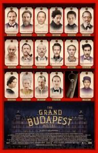 Filmplakat GRAND BUDAPEST HOTEL - engl. OmU
