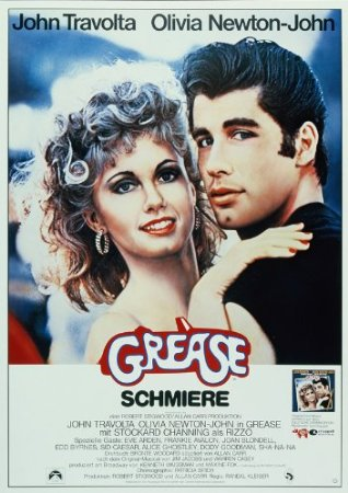 Filmplakat GREASE - Schmiere