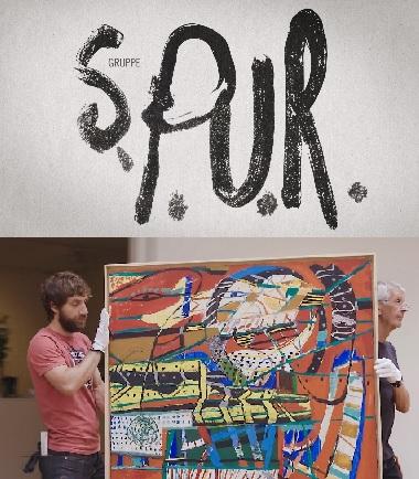Filmplakat Gruppe SPUR - Die Maler der Zukunft