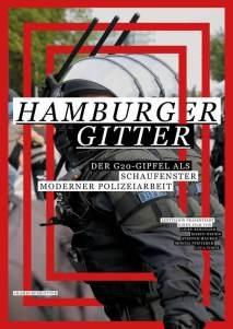 Filmplakat Hamburger Gitter – Der G20-Gipfel als Schaufenster moderner Polizeiarbeit