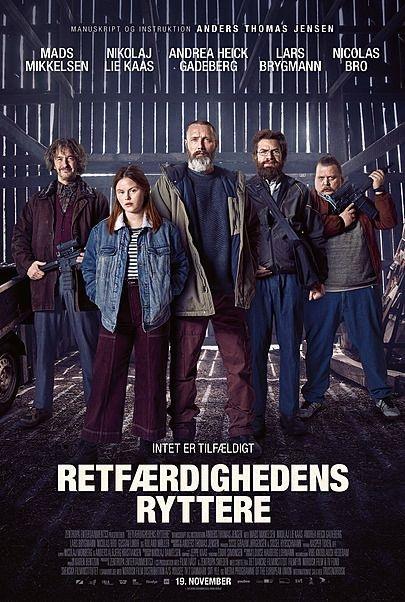 Filmplakat Helden der Wahrscheinlichkeit - Retfærdighedens ryttere -dän. OmU
