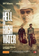 Filmplakat HELL OR HIGH WATER