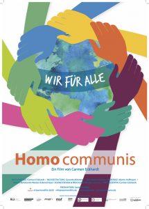 Filmplakat HOMO COMMUNIS - Wir für alle
